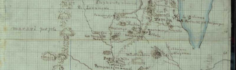 David Livingstone Map of Malawi