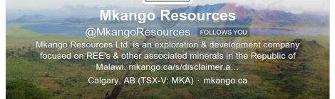 Mkango Resources on Twitter