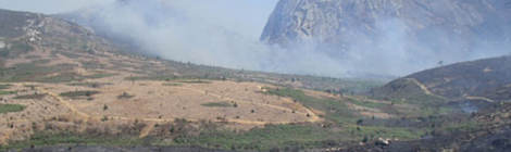 Chambe Basin, Mulanje: site of prospecting and contention. (Courtesy of Spring Stone)