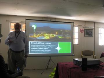 Greg Walker Resident Director and Acting General Manager of Operations, Kayelekera Uranium Project, Paladin Africa