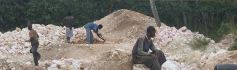 Small Scale Mining in Mzimba, Malawi. Image Courtesy of Chikomeni Manda