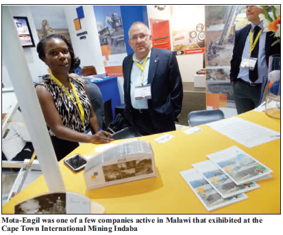 2015-04 Mining Review Mota Engil at Mining Indaba
