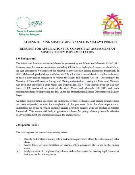 2015-06-10 CEPA Consultancy RFP 1