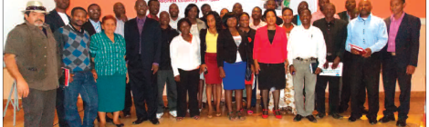 2015-07 Mining Review ActionAid An Extractive Affair Report Launch Group Photo Lilongwe Malawi