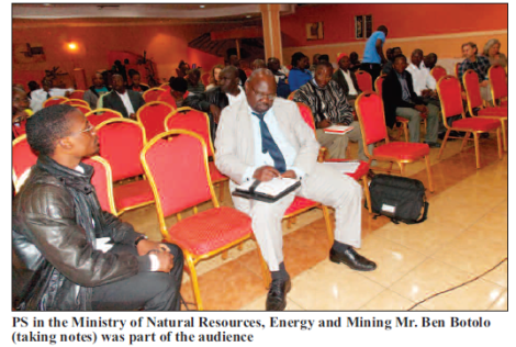 2015-07 Mining Review Debate on Mining Bill Principal Secretary Ben Botolo