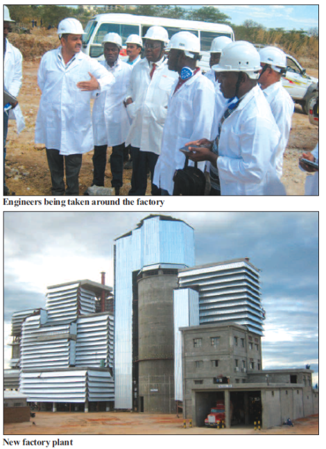 2015-07 Mining Review Engineers Admire Shayona Cement Factory