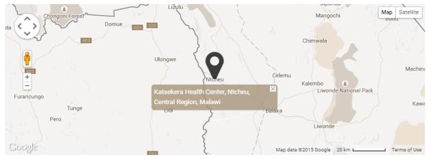 Map of Nyala Mines in Ntcheu, Malawi (Courtesy of GIA)