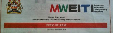 2015-11-30 MWEITI Press Release