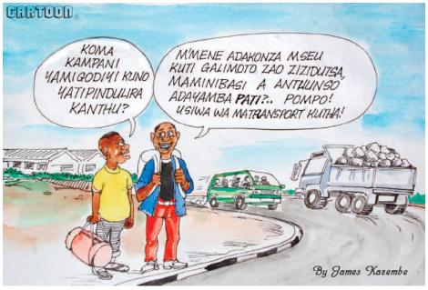2015-12 Mining & Trade Review Cartoon Malawi Mining