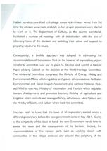 2015-12 Malawi Response to UNESCO on Lake Malawi Natinal Park 2