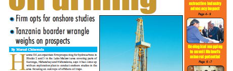 2016-07 Malawi Mining and Trade Review Lake Malawi Oil Drilling