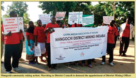 2017-04 Malawi Mining & Trade Review Mangochi District Alternative Mining Indaba
