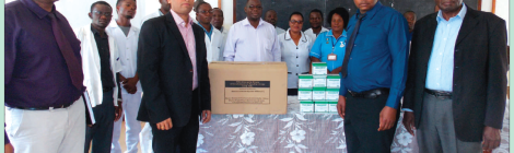 201705 Malawi Mining Trade Review Shayona Cement CSR Medical