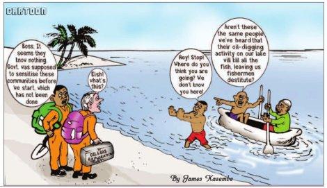 201709 Malawi Mining & Trade Review Cartoon James Kazembe Oil & Gas