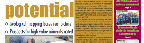 201802 Malawi Mining & Trade Review Cover Mineral Potential