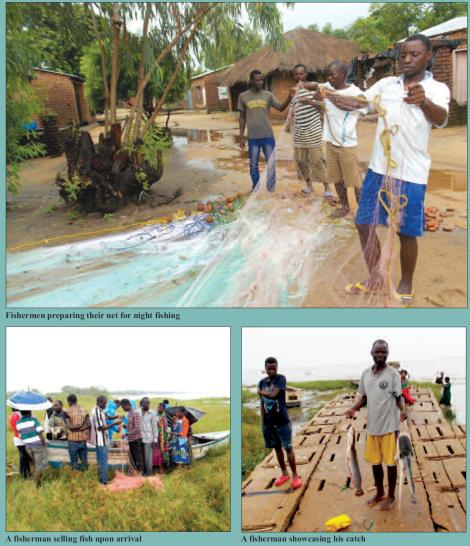 201804 Malawi Mining & Trade Review Lake Malawi Fishermen Oil & Gas II