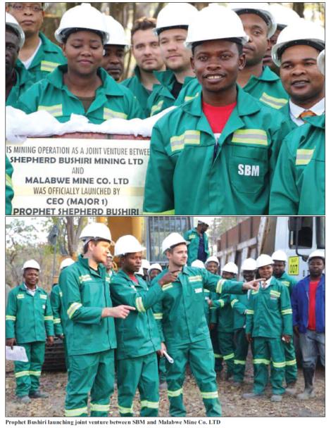 201805 Malawi Mining & Trade Review Prophet Shepherd Bushiri Malabwe Mine