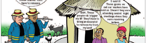 201806 Malawi Mining & Trade Review Sovereign Metals Community Cartoon