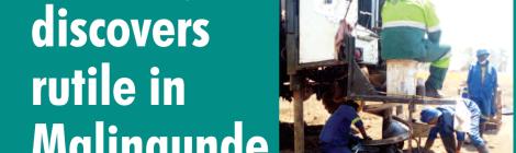 201810 Mining & Trade Review Malawi Sovereign Rutile