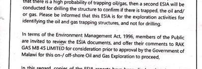 201906 RAK Gas Invitation to public hearing ESIA