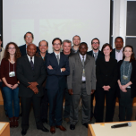 Chiwona (fourth from right) at the first International Workshop on Alternative Potash at Massachusetts Institute of Technology, (Boston, USA)