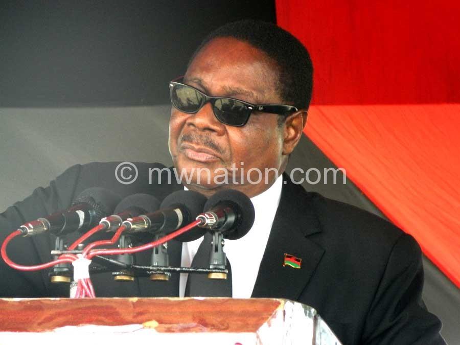 Gave the figure of six percent: Mutharika